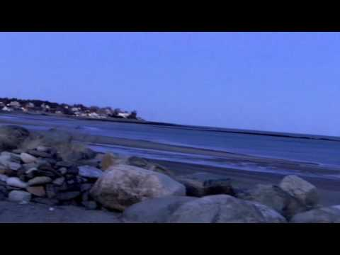 Hampton Beach | Full Moon Rising over Hampton Beach NH | Jan 29 2010.mov