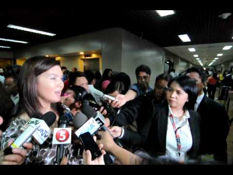 Sen. Pia Cayetano on the contempt ruling against private prosecutor Vitaliano Aguirre