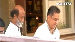 Kamal Haasan Meets Rajinikanth Ahead Of Political Tour, Triggers Fan Frenzy - NDTV