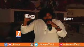 Pawan Kalyan Interact With Titli Cyclone Victims at Nuvvula Revu | Tour in Affected Areas | iNews - INEWS