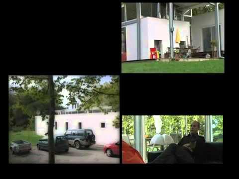 Maison en verre et en acier - Architecte : J. Munvez