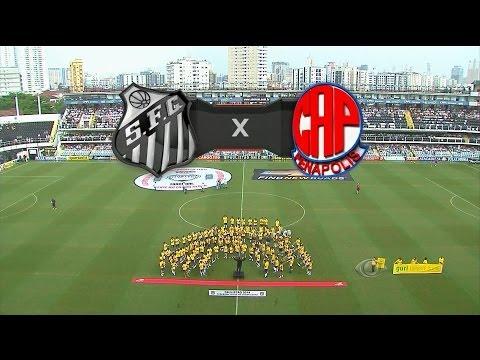 Melhores Momentos - Santos 3 x 2 Penapolense - Paulistão 2014 - 30/03/2014