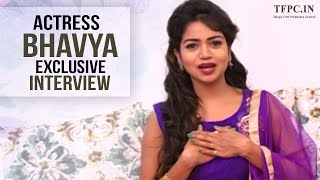 I'm A Very Big Fan Of Pawan Kalyan | Actress Bhavya Interview About Nenu Seetha Devi Movie | TFPC - TFPC