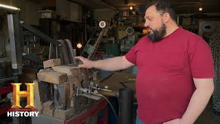 Forged in Fire: Bonus - Wind and Fire Wheels Home Forge Challenge (S5, E19) | History - HISTORYCHANNEL