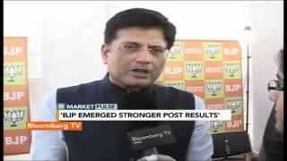 Market Pulse: BJP Emerged Stronger Post Results: Piyush Goyal - BLOOMBERGUTV