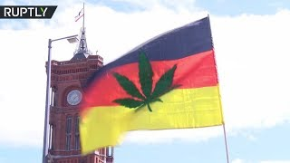 'In hemp we trust': Thousands rally for legalizing marijuana in Berlin - RUSSIATODAY