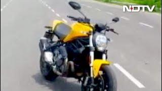 रफ्तार : डुकाटी की मॉनस्टर 821, जानें क्या है इस बाइक की खूबियां - NDTVINDIA
