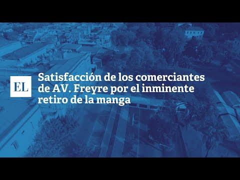 """SATISFACCIÃ""""N DE LOS COMERCIANTES DE AV. FREYRE POR EL INMINENTE RETIRO DE LA MANGA"""