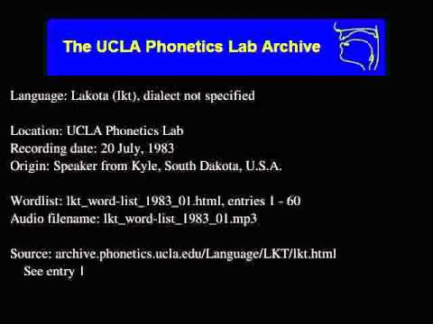 Teton audio: lkt_word-list_1983_01