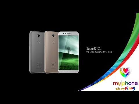 MyPhone SuperD D1 3D Phone