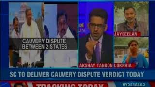 SC to deliver Cauvery dispute verdict today, bus services between TN, Karnataka suspended - NEWSXLIVE