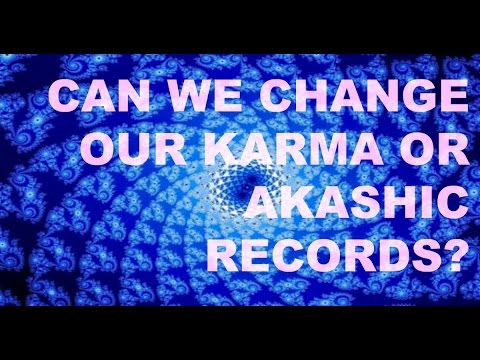 Can We Change Our Karma? Aingeal Rose (excerpt from TJBS)