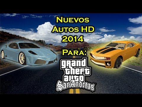 Descarga e Instala Nuevos Autos HD 2014 Para GTA San Andreas  Loquendo