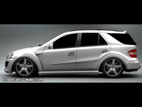 Mercedes Benz ml Tuning