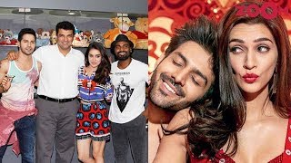 Street Dancer 3D team have some behind the scenes fun | Kartik & Kriti promote Luka Chuppi - ZOOMDEKHO