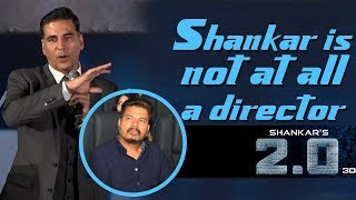 Akshay Kumar Tamil speech | 2.0 Trailer Launch | Rajinikanth - IGTELUGU