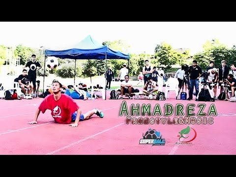 Freestyle & Music | Ahmadreza  Routin SuperBall2013