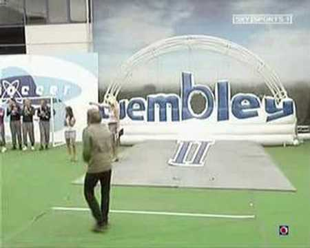 Best shot ever on Soccer AM: Serge