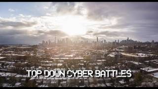Royalty Free :Top Down Cyber Battles