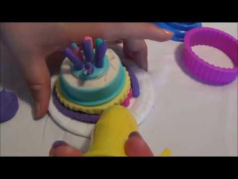 Play Doh Pasteles y Helados de Plastilina *Juguetes Para Ninos* Cake N Ice Cream Confections