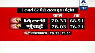 Updated prices of Petrol in various cities - ABPNEWSTV