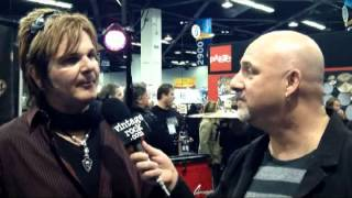 RIKKI ROCKETT Interviewed At NAMM (Video Available)