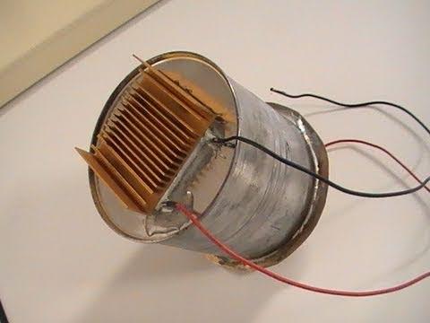 Как сделать водяной генератор на 12 вольт