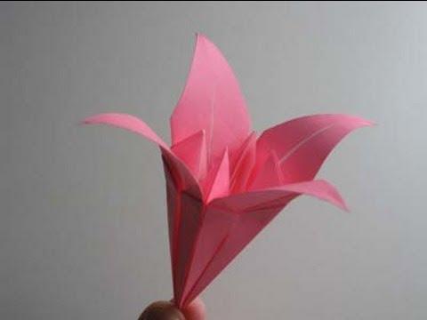 Origami Lily -uqGG48FJA30