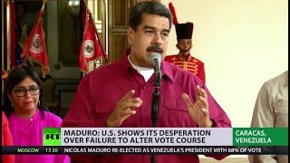 Venezuela voted: Maduro wins, US not happy - RUSSIATODAY
