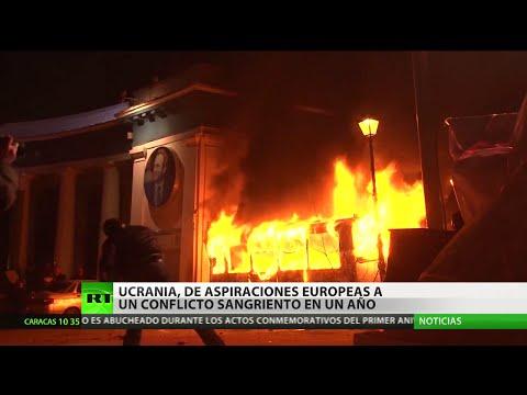 CRONOLOGÍA: Ucrania, un año después del Euromaidán: ¿Un paso hacia Europa o caos inútil?