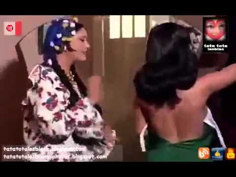 arab egyptian actress shams el baroudi and laila hamada in lesbian scene