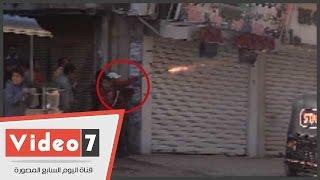 بالفيديو .. لحظة إطلاق الإخوان الخرطوش على قوات الجيش والأمن المركزى بالمطرية