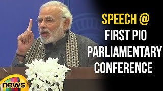 PM Modi Speech at Inaugural Session of PIO Parliamentary Conference | Mango News - MANGONEWS