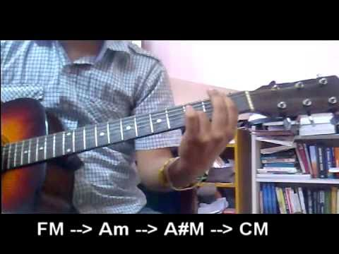 learn EMPTINESS (ROHAN RATHORE) on guitar -(IIT-GUWAHATI )