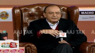 Virat Kohli और Narendra Modi को हराना इतना आसान नहीं - Arun Jaitley |  #AgendaAajTak18 - AAJTAKTV