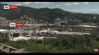 Special report: Disaster on the Morandi Bridge - SKYNEWS