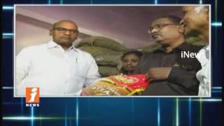Minister Prathipati Pulla Rao Sudden Inspection On Ration Shops In Vijayawada | iNews - INEWS