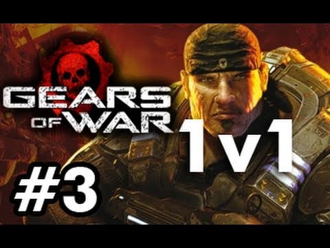 Gears of War: Fail 1v1 with Chilled Chaos and Ze Royal Viking Part 3 (Live Commentary)