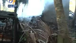 Blast In A Fire Cracker Factory In Uppada Of Kakinada,13 People Feared Dead & Several Injured - ETV2INDIA