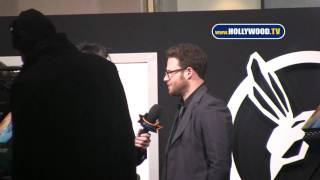 chanel-: Seth Rogen Spotted on Mann Chinese Theatre Red Carpet