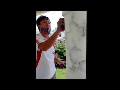 Hướng dẫn quy trình thi công sơn giả đá, giả gỗ