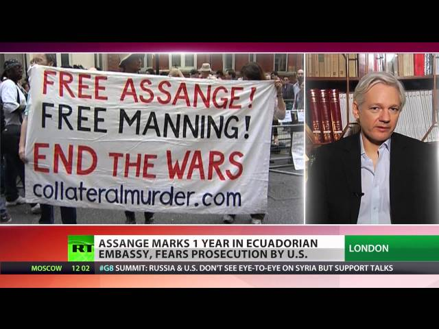 Assange's Year on Ice: 'Every day we live our principles, we truly live'