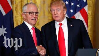 Turnbull really wants Trump to know the U.S. and Australia are 'mates' - WASHINGTONPOST