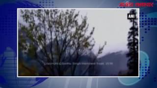 video : हिमाचल प्रदेश के आस-पास के इलाकों में ताज़ा बर्फ़बारी
