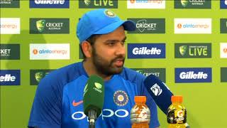 13 Jan, 2019: Australia wins first one-dayer despite Rohit century - ANIINDIAFILE