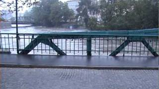 Powódź 2010: Wrocław, Most Tumski