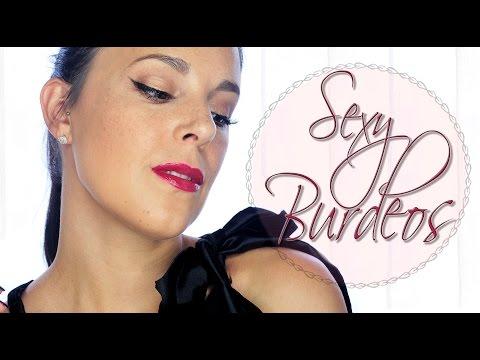 Maquillaje Sexy Burdeos tutorial l Silvia Quiros