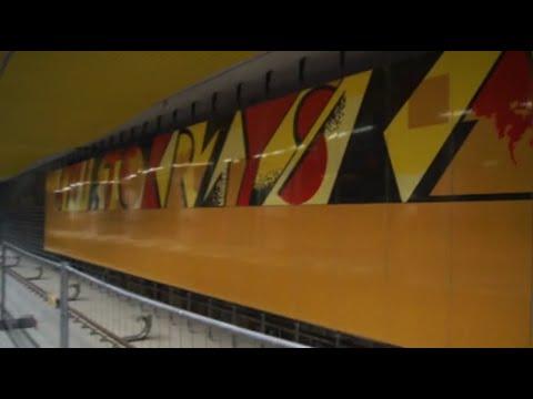 Wirtualna wycieczka po stacji drugiej linii metra Świętokrzyska.