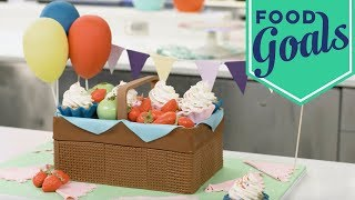 3D Picnic Basket Cake | Food Network - FOODNETWORKTV