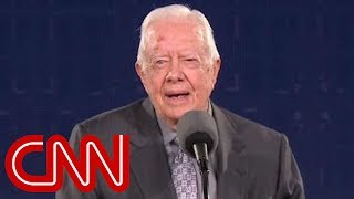 Jimmy Carter's subtle jab at Trump's crowd size - CNN